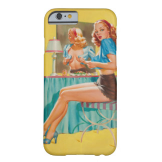 Getting Dressed Pin Up Art Barely There iPhone 6 Case