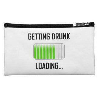 Getting Drunk Loading Funny Makeup Bag