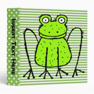 Getting Froggy Avery Binder