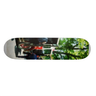 Getting into the Fire Truck Skate Deck