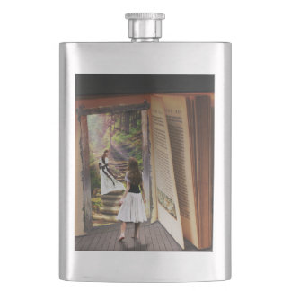 Getting Lost in imagination while reading book Hip Flask