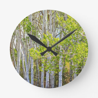 Getting Lost In the Wilderness Wall Clock