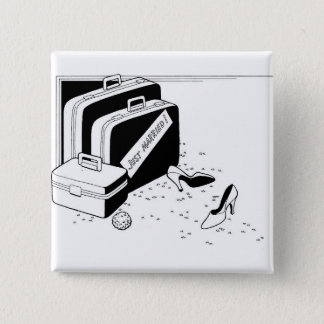 Getting Married Classy Special Custom 2 Inch Square Button