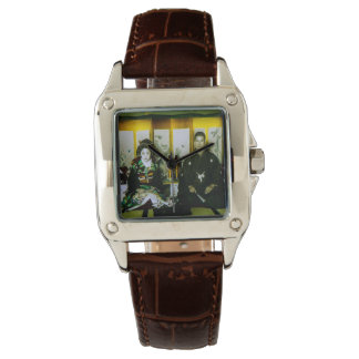 Getting Married in Old Japan The Happy Couple Wristwatches