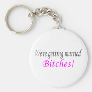 Getting Married Keychain