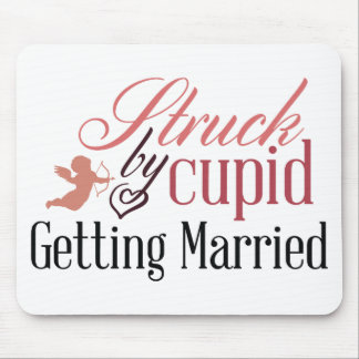 Getting Married Mouse Pad