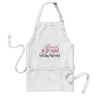 Getting Married Standard Apron