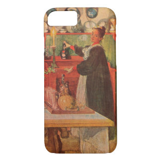 Getting Ready for a Game of Cards by Carl Larsson iPhone 7 Case