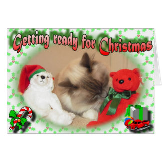 Getting ready for Christmas! Card