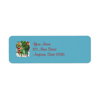 Getting The Christmas Tree Return Address Labels