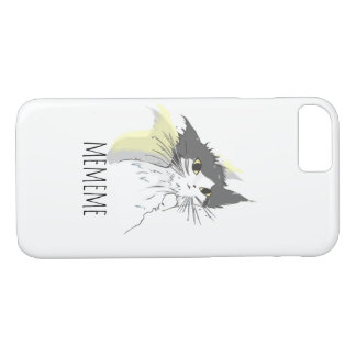 Getting wet cat iPhone 8/7 case
