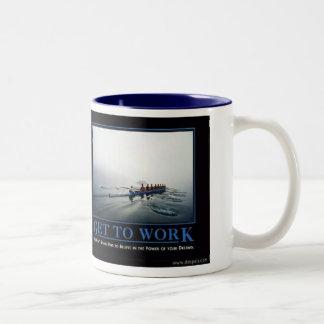 gettowork Two-Tone mug