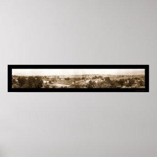 Gettysburg 50th Photo 1913 Poster