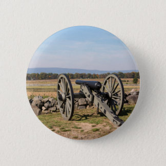 Gettysburg: A view of Pickett's Charge 2 Inch Round Button