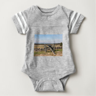 Gettysburg: A view of Pickett's Charge Baby Bodysuit