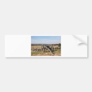 Gettysburg: A view of Pickett's Charge Bumper Sticker