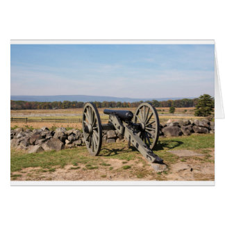 Gettysburg: A view of Pickett's Charge Card