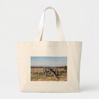 Gettysburg: A view of Pickett's Charge Large Tote Bag
