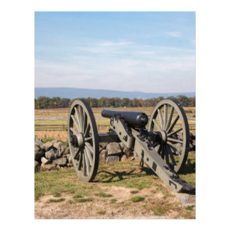 Gettysburg: A view of Pickett's Charge Letterhead
