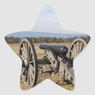 Gettysburg: A view of Pickett's Charge Star Sticker