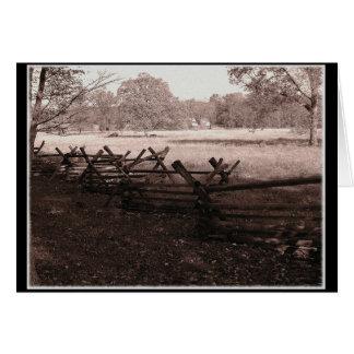 Gettysburg - Battlefield Greeting Card 1