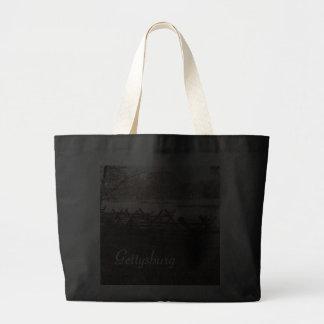 Gettysburg - Battlefield Jumbo Tote Tote Bags