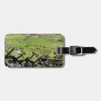 Gettysburg Battlefield Luggage Tag