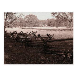 Gettysburg - Battlefield Postcard #1