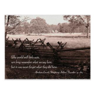 Gettysburg - Battlefield Postcard #2