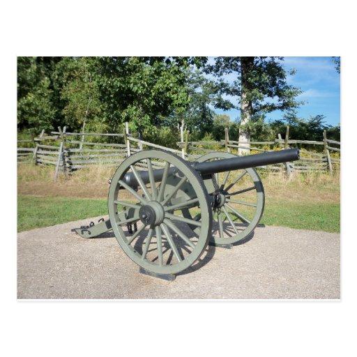 Gettysburg Canon Postcard