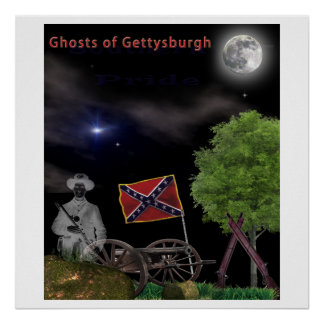 Gettysburg Ghosts Paranormal Poster