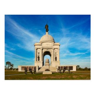 Gettysburg National Park - Pennsylvania Memorial Postcard