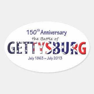 Gettysburg stickers