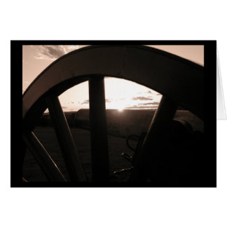 Gettysburg Sunset - Notecard Stationery Note Card