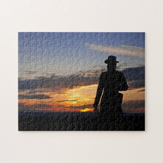 Gettysburg Sunset Puzzle