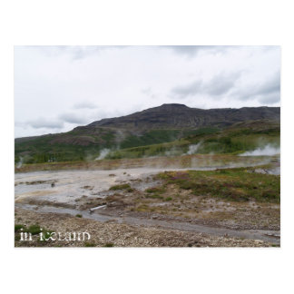 Geysir, Iceland Postcard