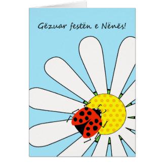 Gezuar festen e Nenes! Mother's Day in Albanian Card