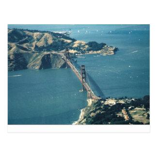 GG Bridge Marin Headlands Postcard