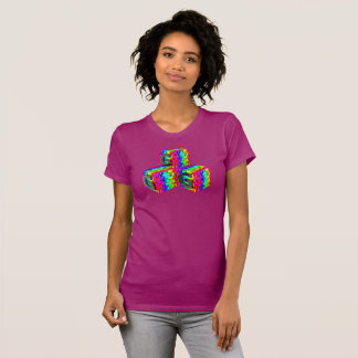 GGG - GG gamer in rainbow colors and obsidian T-Shirt