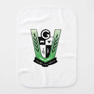 GGMSS 60th Alumni Reunion Crest Products Burp Cloth
