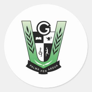 GGMSS 60th Alumni Reunion Crest Products Classic Round Sticker