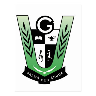 GGMSS 60th Alumni Reunion Crest Products Postcard