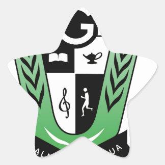 GGMSS 60th Alumni Reunion Crest Products Star Sticker