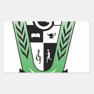 GGMSS 60th Alumni Reunion Crest Products Sticker