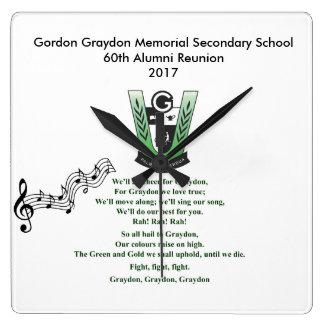 GGMSS School Song Clock