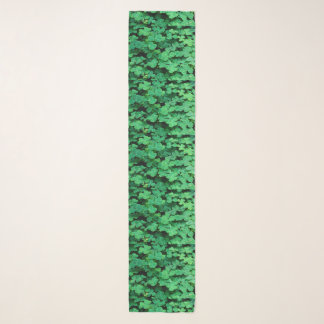 ggreen clovers Patrick's day Scarf