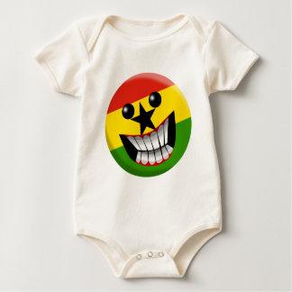 Ghana Baby Bodysuit