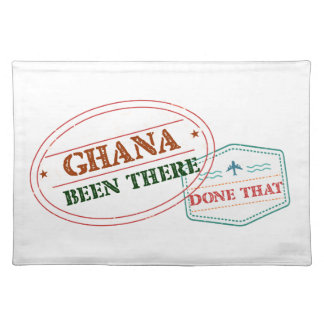 Ghana Been There Done That Placemat