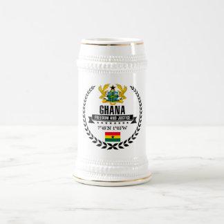 Ghana Beer Stein