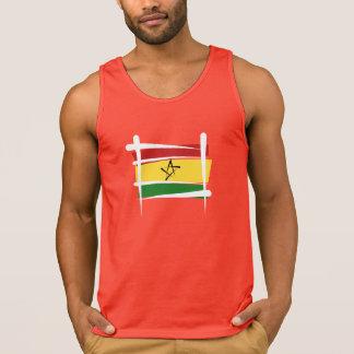 Ghana Brush Flag